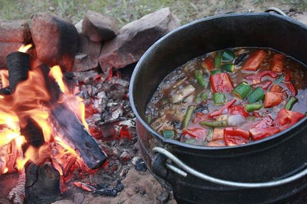 Comida africana tipica