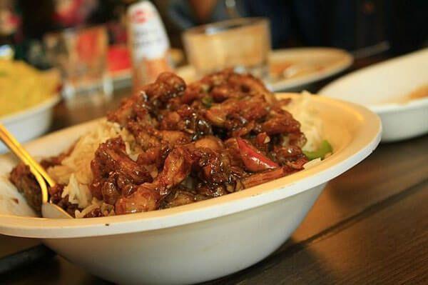 arroz con pescado