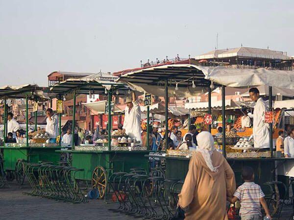 caracoles en marrakech