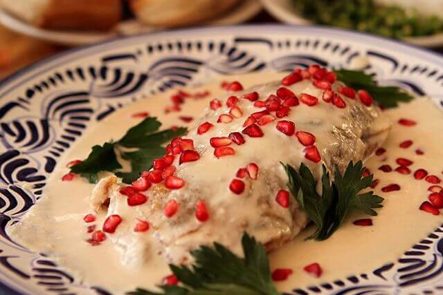 comida típica de méxico chiles