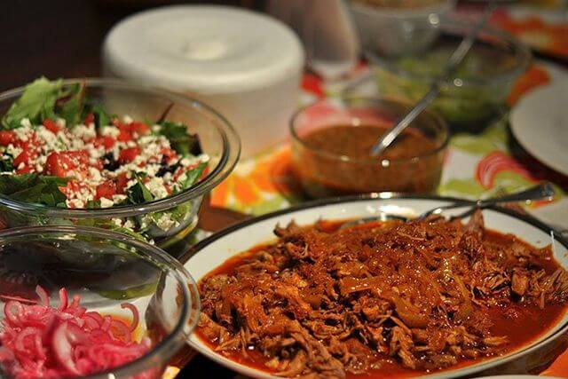 comida típica de méxico cochinita