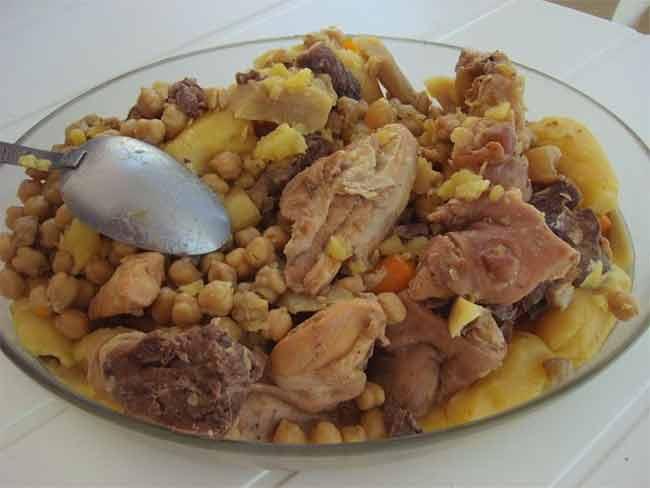 El cocido andaluz