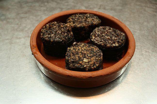 Comida típica de Burgos