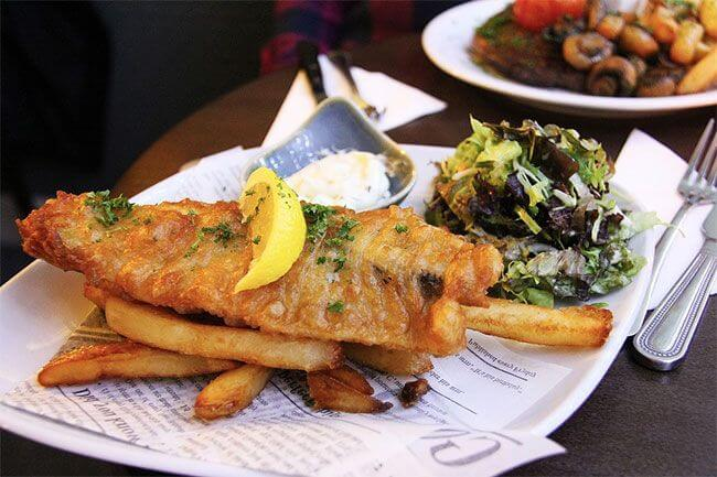 fish'n'chips australiano