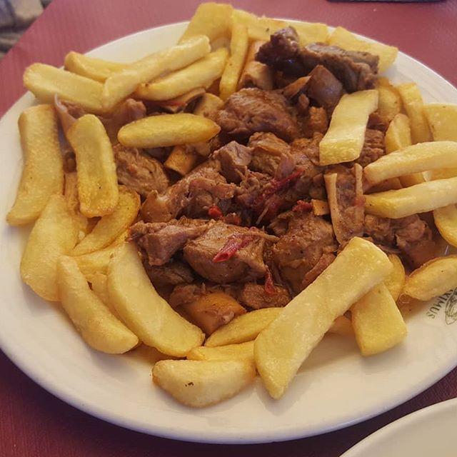 plato típico de Extremadura
