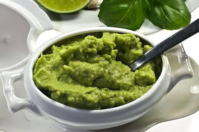 comida típica de méxico guacamole