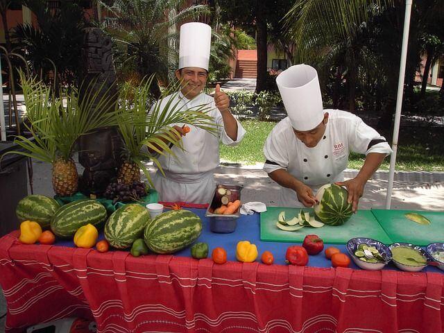 ¿Que es lo que más se come en el Caribe?