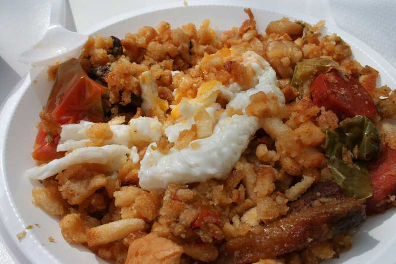 comida típica en Cuenca