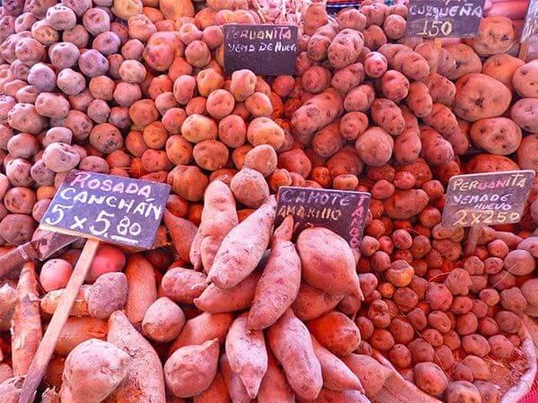 Patatas peruanas