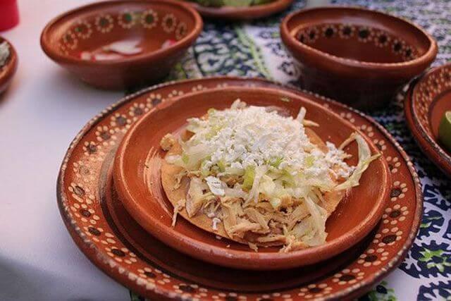 platillos mexicanos tostadas