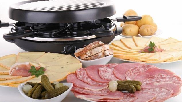 comida tipica de francia: Raclette