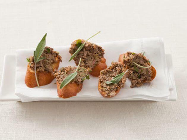 que comer en Florencia: crostini fegato