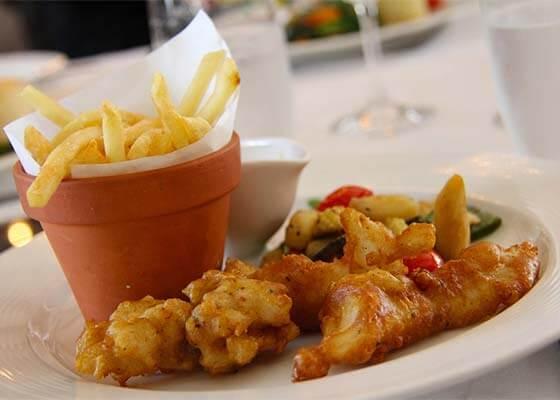 comida típica de londres: Fish & Chips