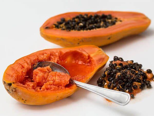 postres típicos de Paraguay: papaya
