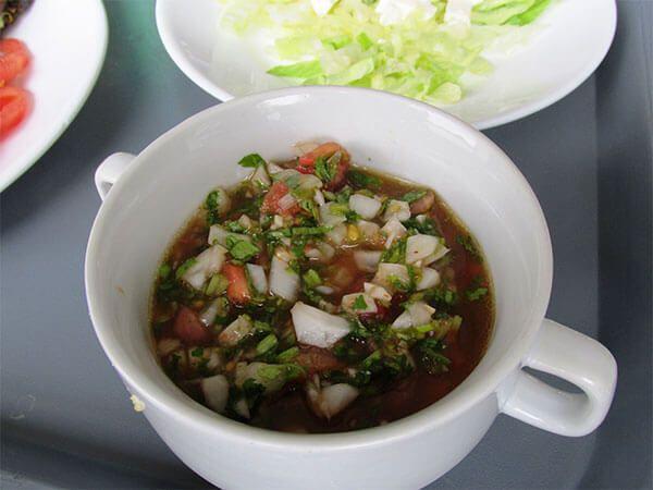 salsa pebre chilena