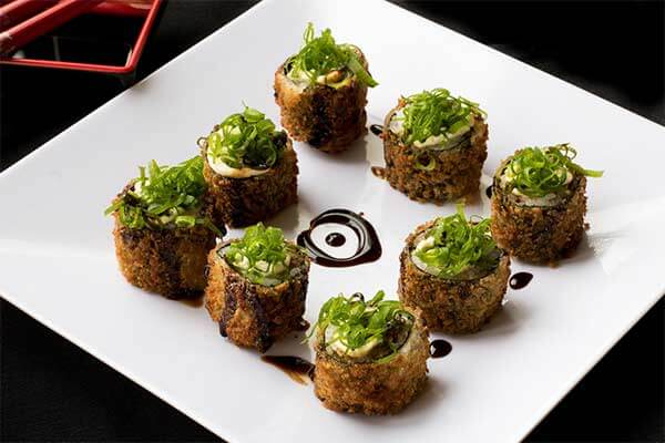 Comida típica japonesa Sushi