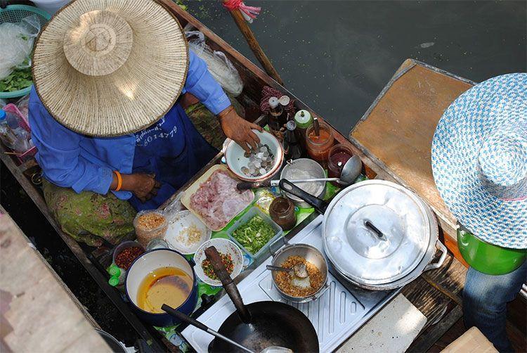 países con mejor gastronomía Tailandia