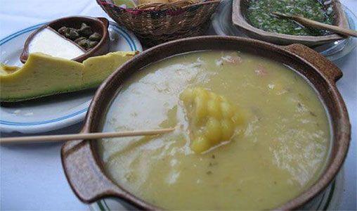 Ajiaco Con Pollo