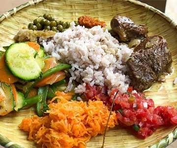 comida típica de Madagascar