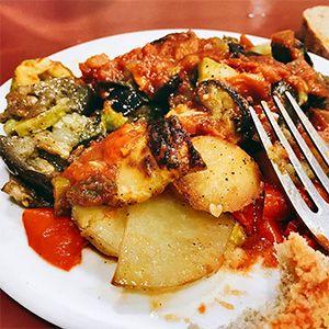 platos tipicos de mallorca: tumbet