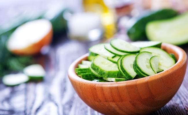 Ingredientes de la ensalada griega